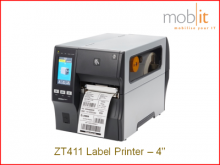 Zebra ZT411 Label Printer, Etikettendrucker, Imprimante d'étiquettes | ☎ 044 800 16 30 | mobit.ch
