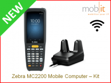 Zebra MC2200 Mobile Computer and Cradle | info@mobit.ch, ☎ +41 44 800 16 30