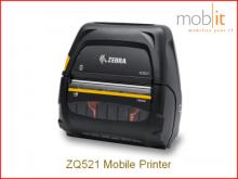 Zebra ZQ521 | Mobile Printer, Mobiler Drucker, Imprimante mobile | mobit.ch