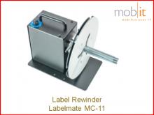 Labelmate Rewinder for Label Printers | ☎ 044 800 16 30, ★ info@mobit.ch
