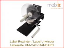 Labelmate Rewinder-Unwinder for Label Printers | ☎ 044 800 16 30 | info@mobit.ch