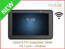 Zebra ET51 Tablet, Android, 10.1-inch, Wi-Fi │☎ 044 800 16 30, info@mobit.ch