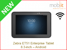 Zebra ET51 Tablet, Android, 8.3-inch, Wi-Fi │☎ 044 800 16 30, info@mobit.ch