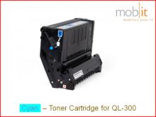 Toner Cyan für QL-300 Farbetikettendrucker