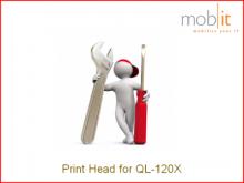 Druckkopf für QL-120X Farbetikettendrucker, eine Farbe