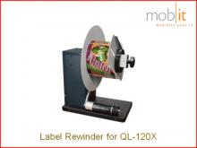 RW-5.1 Etikettenaufwickler für Farbetikettendrucker QL-120X