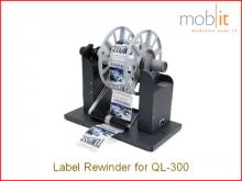 RW-300 Etikettenaufwickler für Farbetikettendrucker QL-300