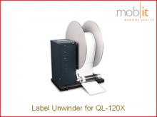 UW-5.1 Etikettenabwickler für Farbetikettendrucker QL-120X