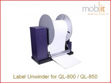 UW-800 Etikettenabwickler für Farbetikettendrucker QL-800