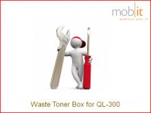 Resttonerbehälter für QL-300 Farbetikettendrucker