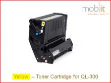 Toner Yellow für QL-300 Farbetikettendrucker