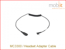 MC3300 Headset Adapter Cable, 2.5 mm