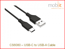 Zebra CS6080 USB C-A Ladekabel für 1-slot Ladestation