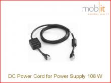 Stromkabel DC, für Zebra Netzteil 108W