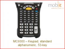 Tastatur zu Zebra MC9300, standard alphanumeric, 53-key