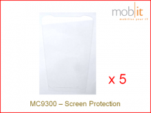 Displayschutz zu Zebra MC9300, 5 Stück
