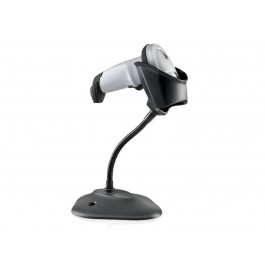 Symbol LI2208 1D Scanner Kit: USB Series A, White, Stand