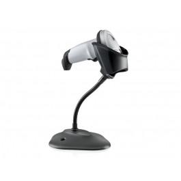 Symbol LI2208 1D Scanner Kit: USB Series A, White, Stand