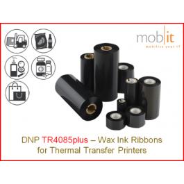 Wax Ribbon TR4085plus - 110 mm x 450 m, 1 single roll