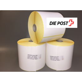 Direct Thermal Paper Labels - 105 x 148 mm, 12 rolls/box