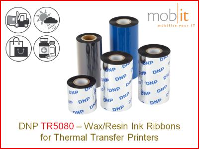 DNP TR5080 - Ink Ribbon, Farbband, Ruban encreur, Nastri per stampanti |☎ 044 800 16 30, info@mobit.ch