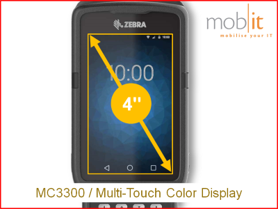 Zebra MC3300 Display