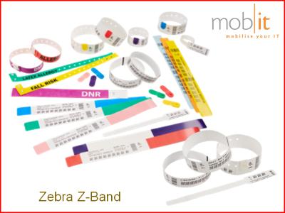 Zebra Z-Band | Wristbands - Armbänder - Bracelets | ☎ 044 800 16 30 | mobit
