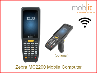 Zebra MC2200 Mobile Computer | ☎ +41 44 800 16 30, info@mobit.ch