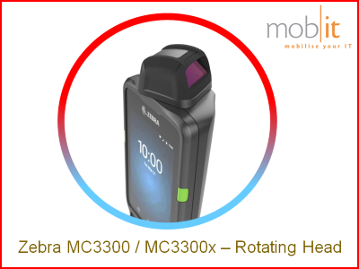 Zebra MC3300x Rotating Head | info@mobit.ch, ☎ +41 44 800 16 30