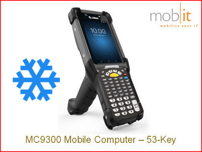 Zebra MC9300 Freezer 53-Key 1D Scanner Vibe   MC930P-GFADG4RW   ☎ 044 800 16 30   mobit