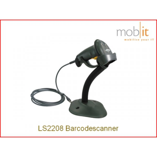 Zebra LS2208 black Barcode Scanner, Strichcodeleser, Lecteur code à barres | mobit.ch
