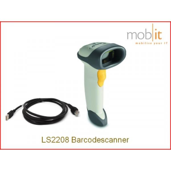 LS2208 white Barcode Scanner, Strichcodeleser, Lecteur code à barres | ☎ 044 800 16 30 | mobit