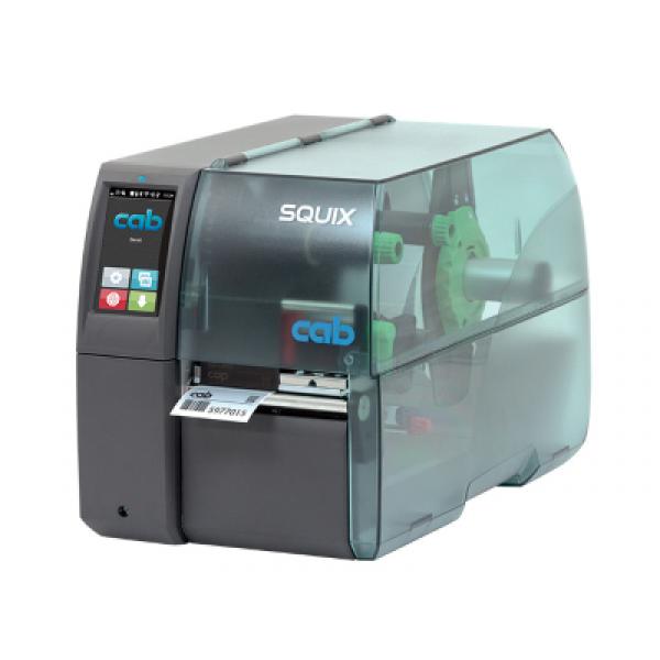 cab SQUIX 4 Label Printer, Etikettendrucker, Imprimante d'étiquettes, Stampante per etichette | ☎ 044 800 16 30, mobit.ch