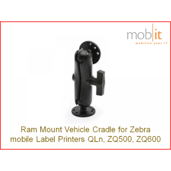 Zebra Label Printers: RAM Mount | AK17463-002 | ☎ 044 800 16 30, info@mobit.ch