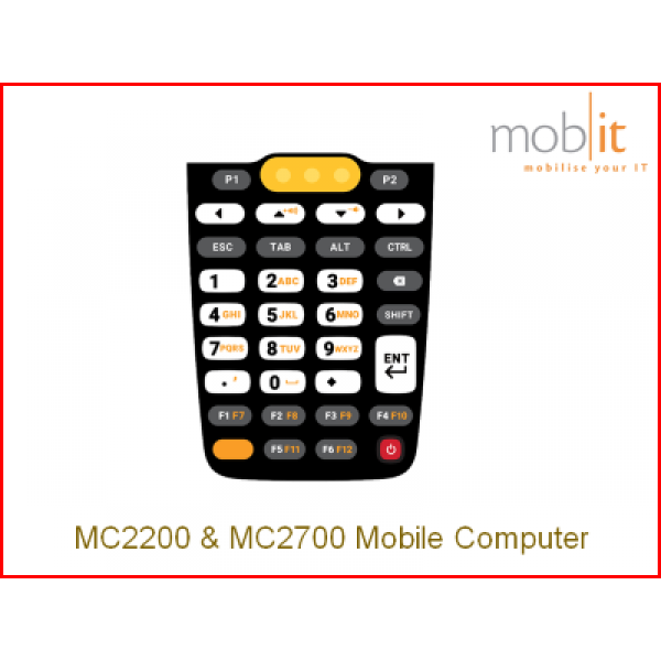 Zebra MC2200 / MC2700 Mobile Computer, Keys | ☎ 044 800 16 30, info@mobit.ch