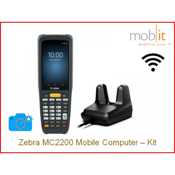 Zebra MC2200 Mobile Computer and Cradle, Camera   ☎ +41 44 800 16 30, info@mobit.ch