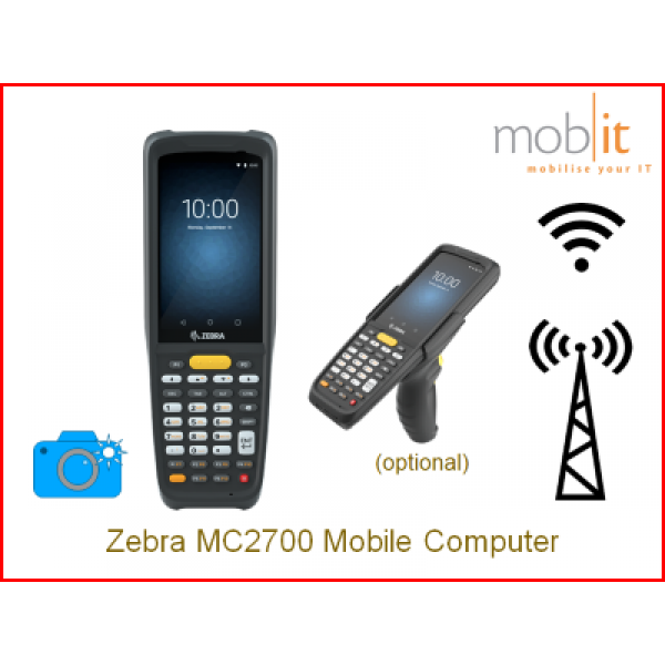 Zebra MC2700 Mobile Computer,Camera   ☎ +41 44 800 16 30, info@mobit.ch