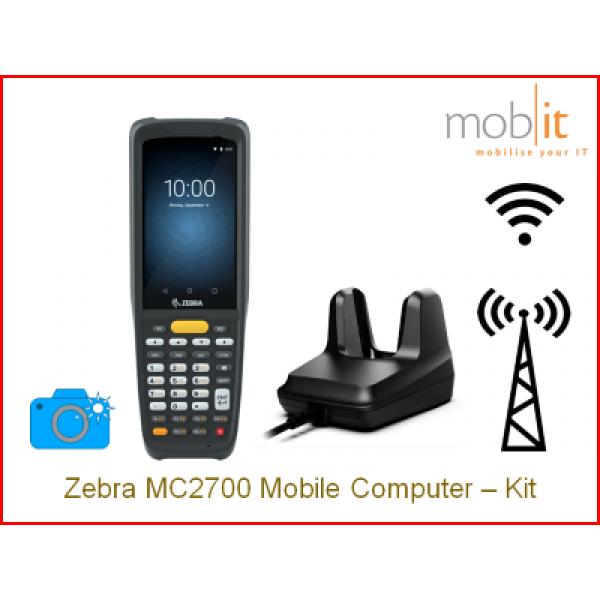 Zebra MC2700 Mobile Computer and Cradle,Camera   ☎ +41 44 800 16 30, info@mobit.ch