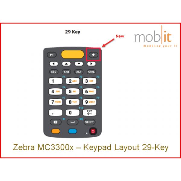 Zebra MC33x Mobile Computer, Keypad 29 | info@mobit.ch, ☎ +41 44 800 16 30