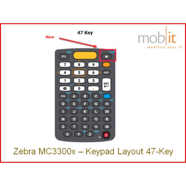 Zebra MC33x Mobile Computer, Keypad 47 | info@mobit.ch, ☎ +41 44 800 16 30
