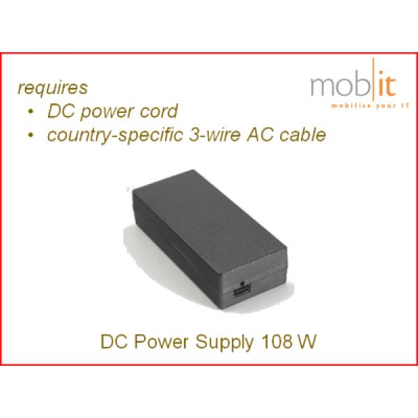 Zebra Mobile Computer Power Supply 108W   PWR-BGA12V108W0WW   ☎ 044 800 16 30   mobit