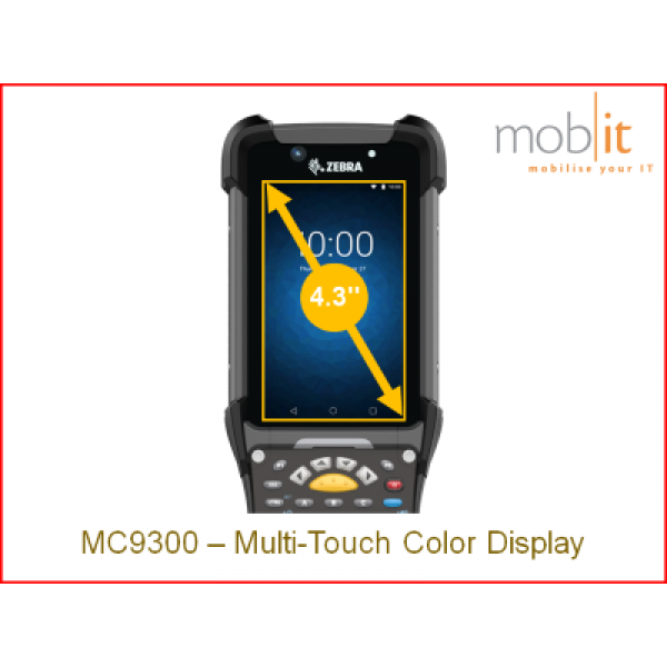 Zebra Zechnologies MC9300, 4-inch screen   ☎ 044 800 16 30   mobit