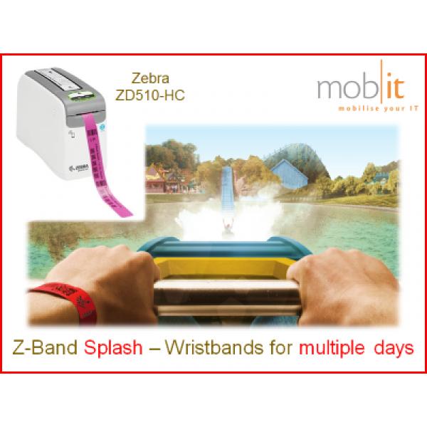 Zebra Z-Band Splash Wristbands, Armbänder, Bracelets |☎ 044 800 16 30, mobit.ch