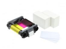Evolis Verbrauchsartikel-Paket für 100 Drucke
