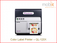 AstroNova QuickLabel QL-120X Color Label Printer CMYK 1200 dpi | ☎ 044 800 16 30 | mobit.ch