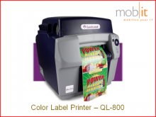 AstroNova QuickLabel QL-800 Color Label Printer 1600 dpi CMYK | ☎ 044 800 16 30 | mobit