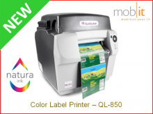 AstroNova QuickLabel QL-850 Color Label Printer CMYK 1600 dpi, Natura Ink | ☎ 044 800 16 30 | mobit