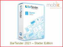 BarTender 2021 Label Software - Starter Edition | ☎ 044 800 16 30, info@mobit.ch