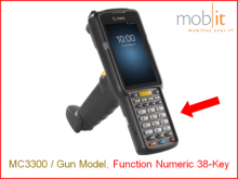 Zebra MC9300 Mobile Computer | Gun 38-Key | ☎ 044 800 16 30 | mobit