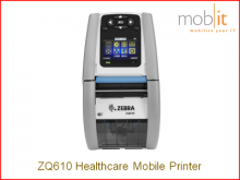 Zebra ZQ610 Healthcare | Mobile Printer - mobiler Drucker - Imprimante mobile | mobit.ch